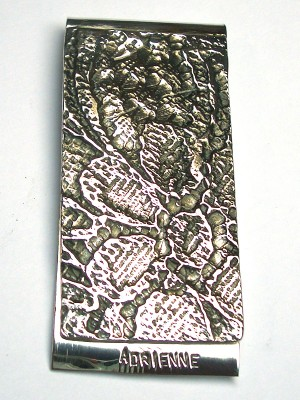Fermasoldi in argento